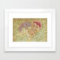 Fino & Lilu Framed Art Print
