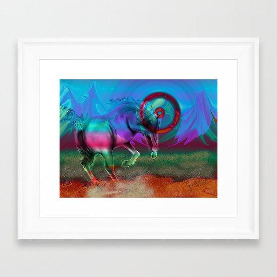 big boy Framed Art Print