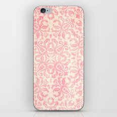 Shabby Arabesque Pattern iPhone & iPod Skin