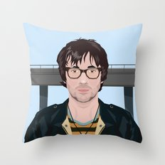 Graham Coxon Under the Westway Throw Pillow