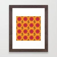 Ma Boheme La Floraison Framed Art Print