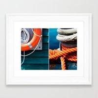 Nautica  Framed Art Print