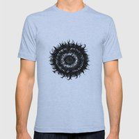 gothic-mandala Mens Fitted Tee Athletic Blue SMALL