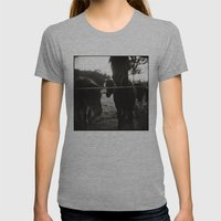{ pony pals } Womens Fitted Tee Athletic Grey SMALL