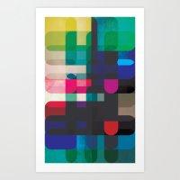 Circleton Art Print