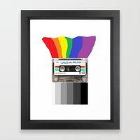 Creative Design Framed Art Print