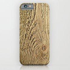 Unrefined Wood Grain Slim Case iPhone 6s