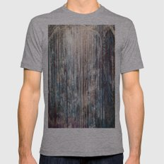 Blue Away Mens Fitted Tee Athletic Grey SMALL