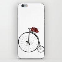Christmas Bicycle iPhone & iPod Skin