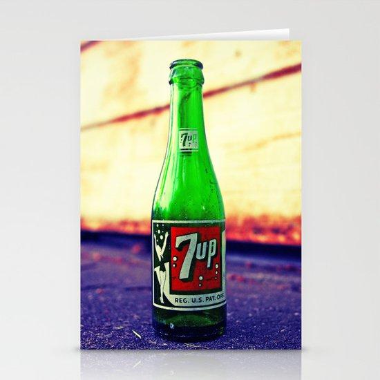 7up nostalgia Stationery Card