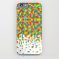 Pixel Chaos iPhone 6 Slim Case