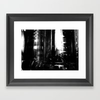 Describe Where You Are _… Framed Art Print
