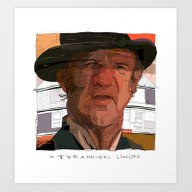 Art Print featuring Hackman by Tony Rodriguez
