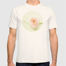 Bloom Again  Mens Fitted Tee Natural SMALL