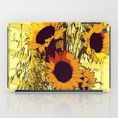 Sunflowers iPad Case