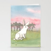 Good Morning Bunny Stationery Cards
