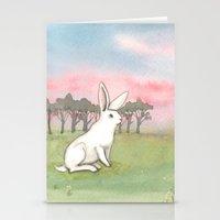 Good Morning Bunny Stationery Cards
