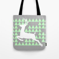 FREEDOM DEER Tote Bag