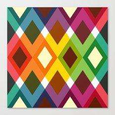 Squares & Colours Canvas Print