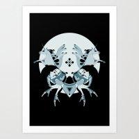 Unholy Space Journey Art Print