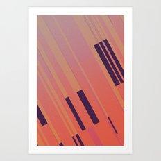 Canopus Peach Art Print