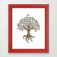 Shirley's Tree Framed Art Print