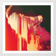 Art Print featuring Dropie by Robert Hruska