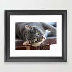 Genevieve Framed Art Print