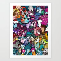 Freaky Friday Art Print