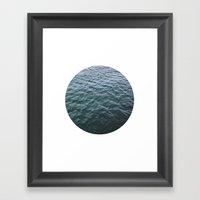 Planetary Bodies - Water Framed Art Print