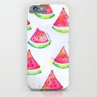 Watermelon Watercolor Print  iPhone 6 Slim Case