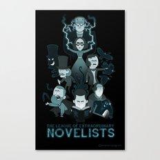 Extraordinary Novelists Canvas Print