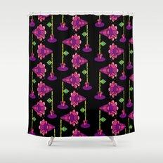 Mega Floral Shower Curtain