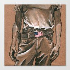 Border Patrol Canvas Print