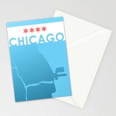 Minimalist Chicago Stationery Cards