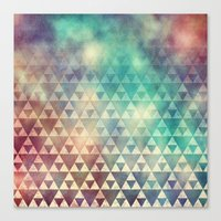 Tribal Fade Canvas Print