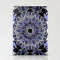 Lilac Mandala Stationery Cards