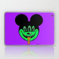 REPTILIAN MICKEYES. (Green Face). Laptop & iPad Skin