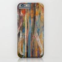 iPhone & iPod Case featuring Elephant by Michael Creese