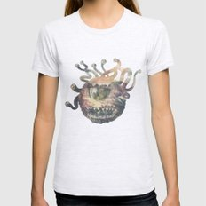 Beholder Womens Fitted Tee Ash Grey SMALL