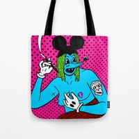 SMOKE.   (Mouseketeer). … Tote Bag