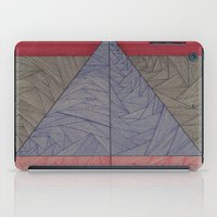 Red, Blue, Orange, Black iPad Case
