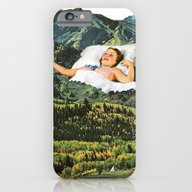 iPhone & iPod Case featuring Rising Mountain by Eugenia Loli