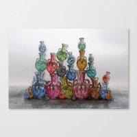 Villa Vase Canvas Print