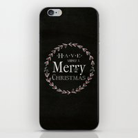 Merry Christmas iPhone & iPod Skin