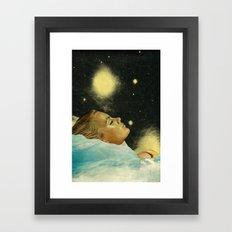 The sleeper Framed Art Print