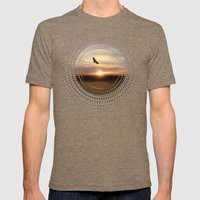 Freedom Mens Fitted Tee Tri-Coffee SMALL