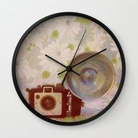 Holiday Flash Wall Clock