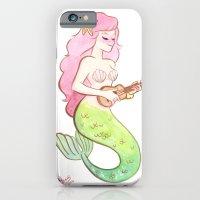 ukulele mermaid iPhone 6 Slim Case