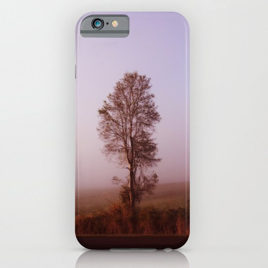 Standing alone in the fog iPhone & iPod Case